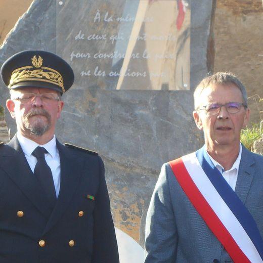 Sous Préfet et maire,hommage unanime