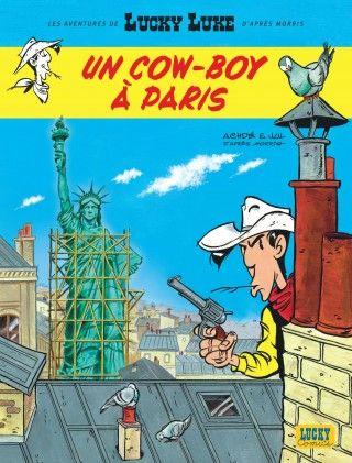 """""""Lucky Luke, un cow boy à Paris"""" de Jul et Achdé est en tête des ventes."""