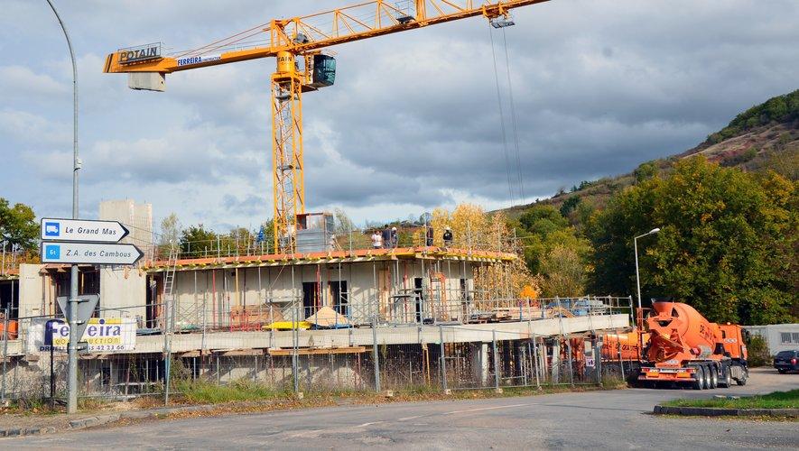 La livraison du bâtiment est prévue en juillet 2019.