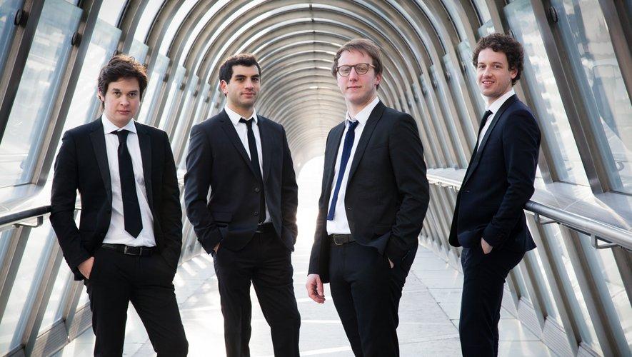 Le Quatuor Van Kuijk, une formation en pleine ascension.