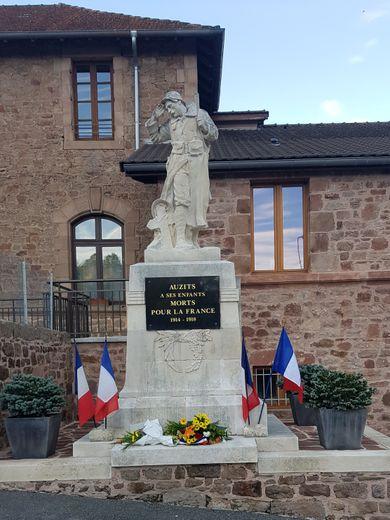 Le village a célébré l'armistice