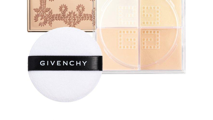 """La poudre """"Prisme Libre"""" de la collection de Noël de Givenchy."""