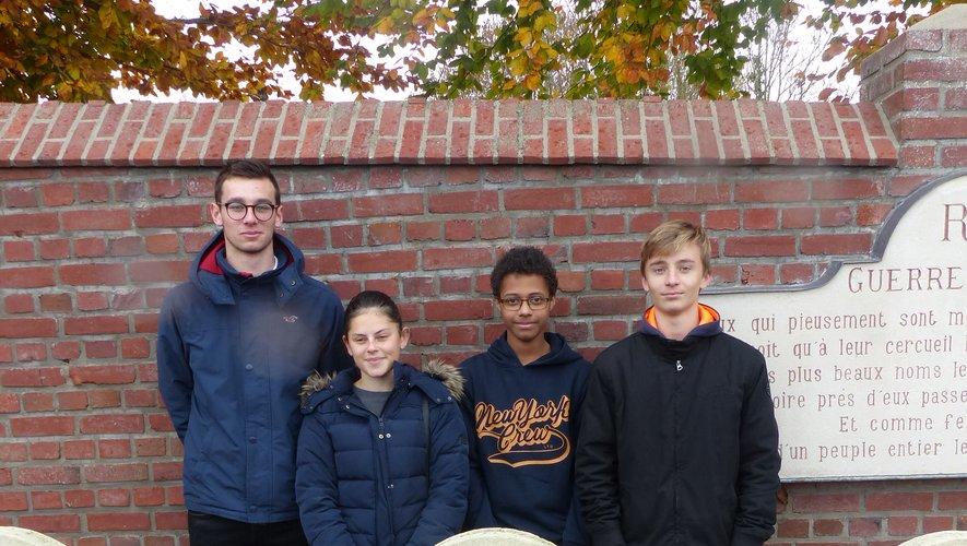 Deux établissements scolaires de Poitiers et Eu ont participé au projet.