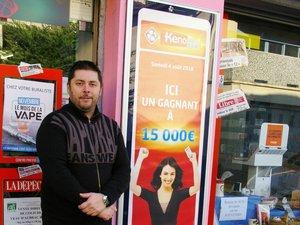 Une cliente du tabac Romero empoche 15 000 € au Keno