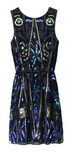 La robe à sequins de Molly Bracken - Prix : 79,95€ - Site : www.mollybracken.com.