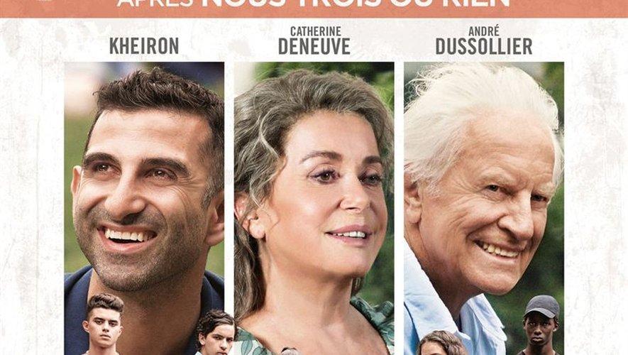 Kheiron, Catherine Deneuve et André Dussollier interprètent les rôles principaux de cette comédie dramatique.