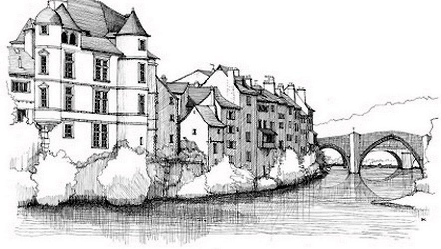 «La Hache Illustration est née d'une volonté de mettre l'Aveyron en lumière et des paysages de mon enfance», Hélène Lemouzy.