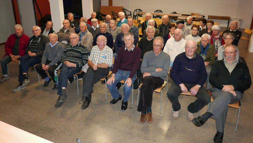 Soixante-cinq adhérents étaient présentsà cette assemblée.