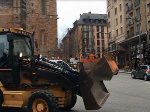 Rodez : au tour des travaux publics de mener une opération escargot