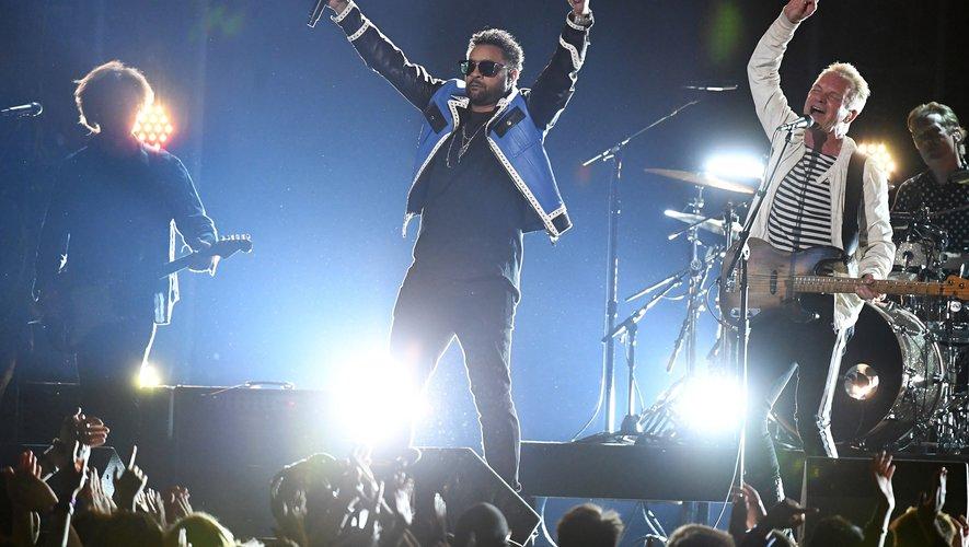 Shaggy et Sting ont donné ensemble une série de concert à travers l'Europe et l'Amérique du Nord