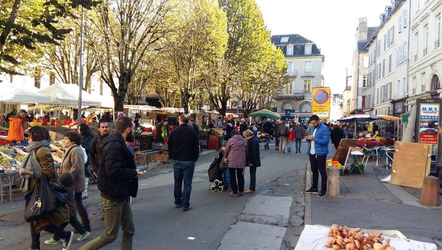 Des vols ont été commis au marché de Rodez ce samedi
