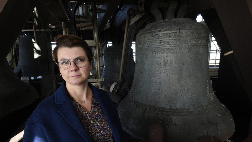 La musicienne Malgosia Fiebig, première femme carillonneuse du Domtoren en plus de trois siècles