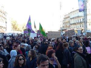 A Montpellier, 2000 personnes ont participé à la marche. On en comptait 1500 à Toulouse.