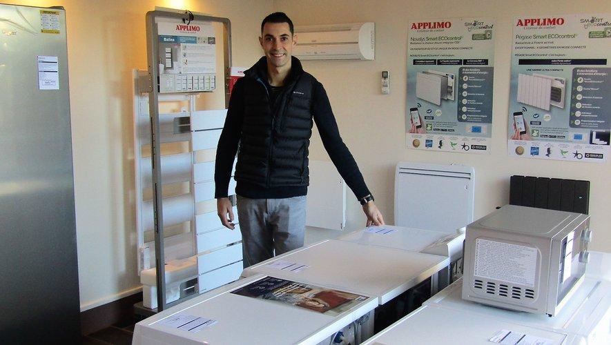 Gianni propose un nouveau service, la vente d'appareils ménagers.