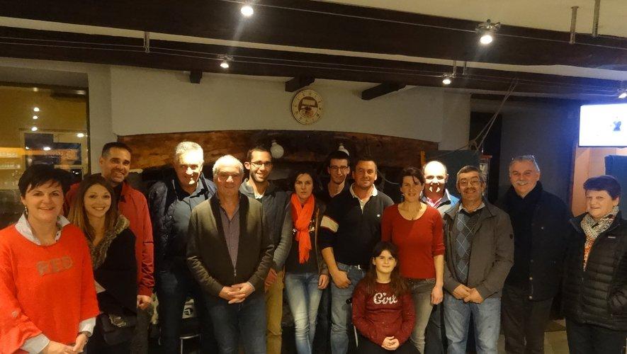 Éleveurs, office de tourisme et élus au Café du foirail.