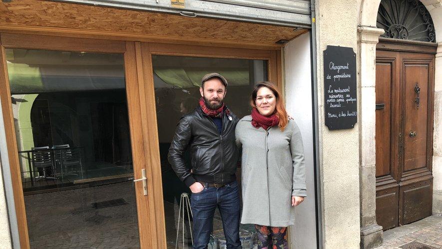 Guillaume Lacarrière et Oriane Journeau proposent une nouvelle offre de restauration rue de la République.