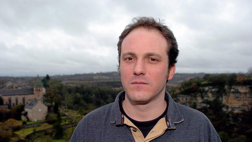 """Guillaume Viala, chef du restaurant """"Le Belvédère"""", à Bozouls."""