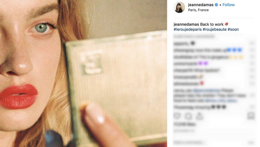 Jeanne Damas Instagram 2018