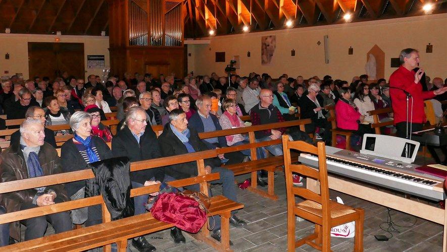 Le chœur de l'église a résonné de notes vocales chaleureuses