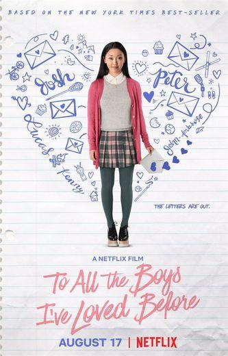 """""""A tous les garçons que j'ai aimés"""" est sorti le 17 août 2018 sur Netflix."""
