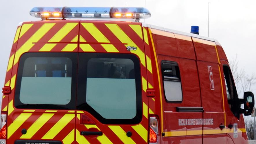 Les pompiers sont intervenus vers midi à La Primaube, ce dimanche.