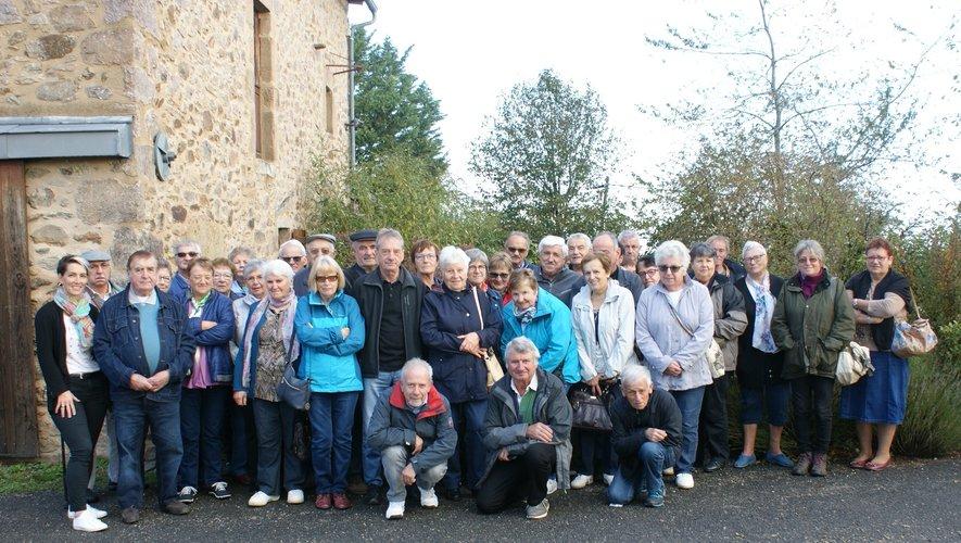 Les aînés ont apprécié cette sortie d'automne à Rignac.