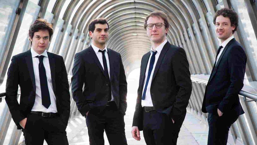 4 français pour le quatuor Van Kuijk