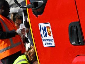15 sapeurs-pompiers sont intervenus durant près de 2 h pour porter secours aux victimes