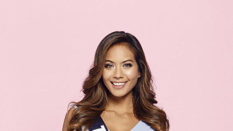 Vaimalama Chaves, Miss Tahiti, est la favorite au concours Miss France cette année