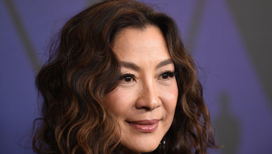 """Michelle Yeoh était dernièrement à l'affiche de """"Crazy Rich Asians"""", qui a récolté plus de 233 millions de dollars de recettes dans le monde."""