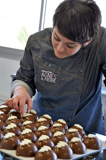 Agnès Prévidente : « Chaque chocolatier à signature ! »