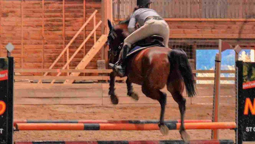 Un beau concours de sauts d'obstacles.
