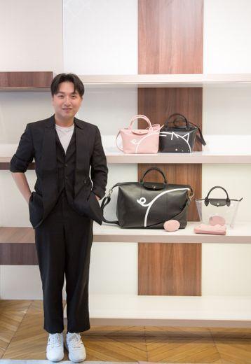 Mr. Bags renouvelle son partenariat avec Longchamp pour le Nouvel An chinois.
