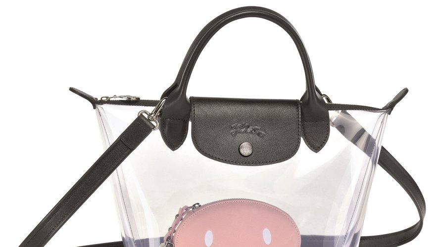 Le sac à main transparent en PVC signé Longchamp x Mr. Bags.