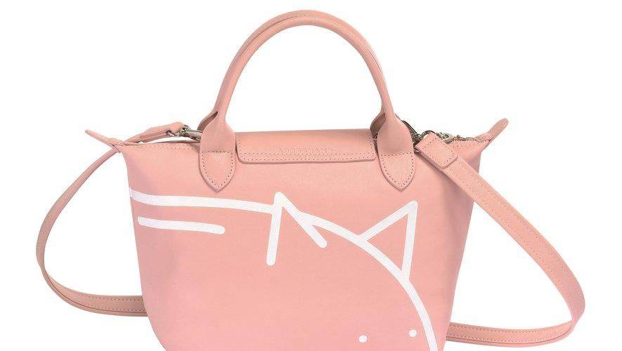 Le sac Le Pliage Cuir de Longchamp réinterprété par Mr. Bags pour le Nouvel An chinois 2019.
