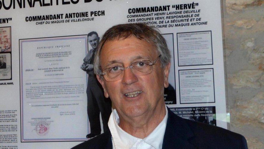 Camille Pech, contera Le maquis Antoine.