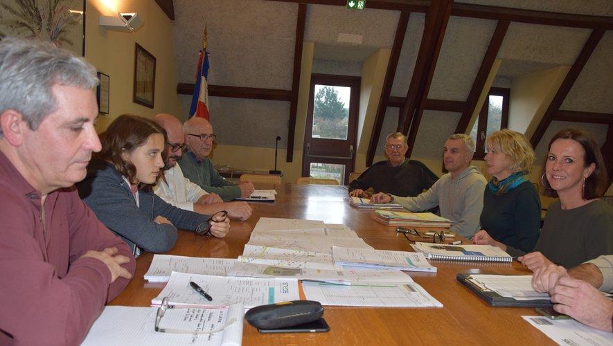 Une réunion a eu lieu mardi pour évoquer le lancement  du chantier.