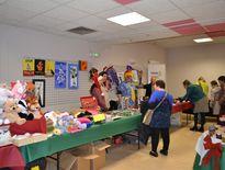 Le foyer de vie prépare et accueille le marché de Noël