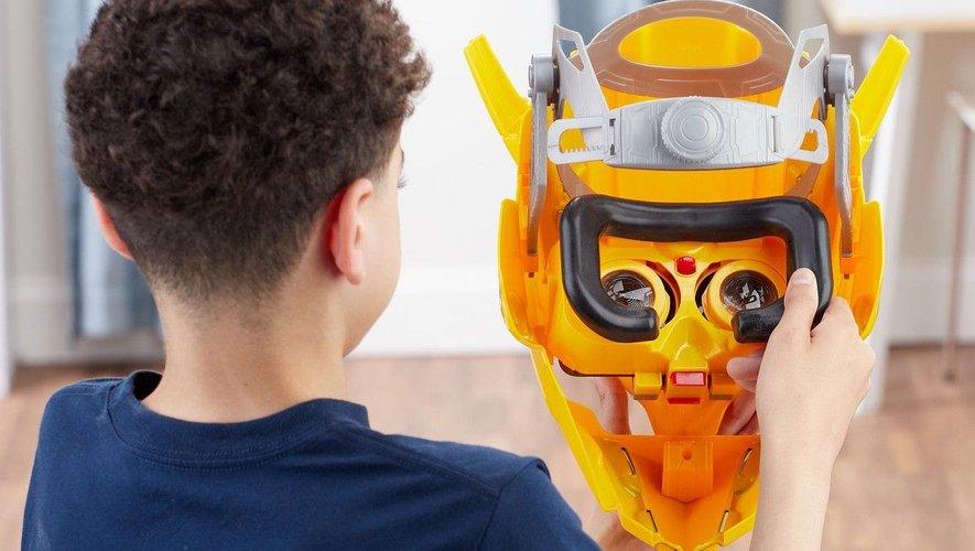 Le casque Bumblebee Bee Vision vu de l'intérieur
