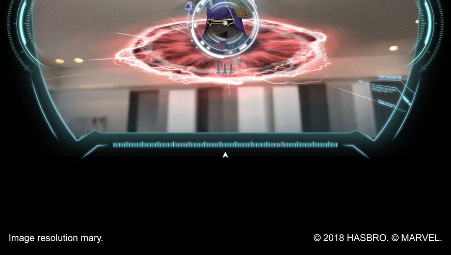 "Vue du jeu ""Iron Man Hero Vision"""