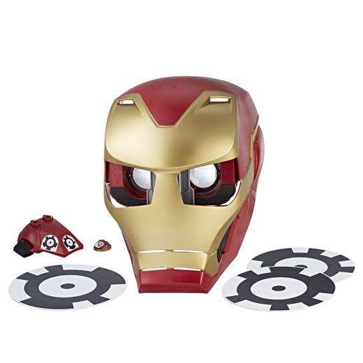 Iron Man Hero Vision, tout comme Bumblebee Bee Vision, contient un gant et trois marqueurs de délimitation de jeu.