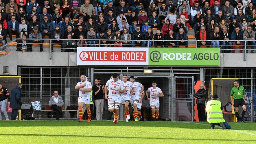 RUGBY - Fédérale 1. Battus (24-15), les Ruthénois ont enregistré à Aubenas une sixième défaite en dix matches.