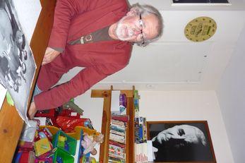 -P. Brun a côtoyé les plus grands artistes