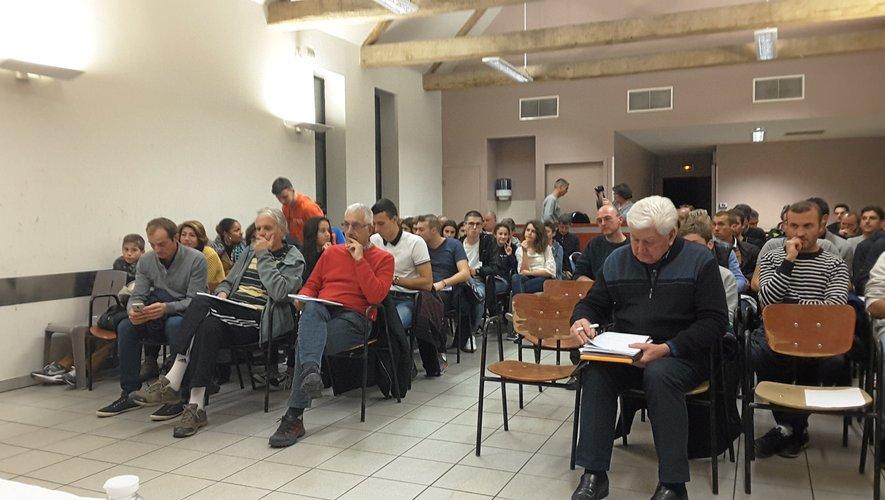 Plus d'une centaine de personnes ont suivi l'assemblée générale.