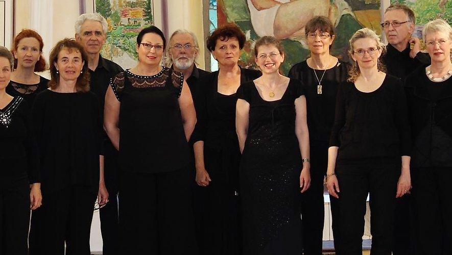 Le Chœur Départemental de l'Aveyron animera la soirée à partir  à l'église.