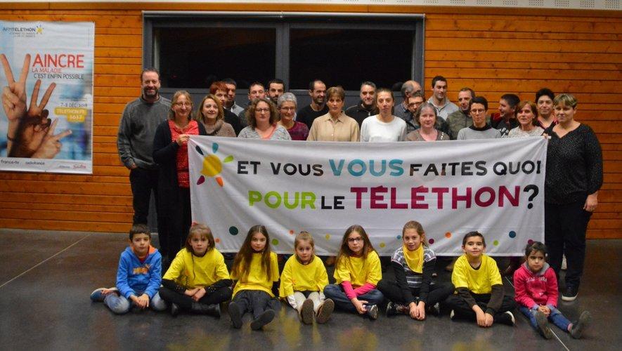 Ils étaient 3 en 2003, ils sont une quarantaine à ce jour. L'équipe du Téléthon  est fière de lancer l'opération 2018 à Alrance.
