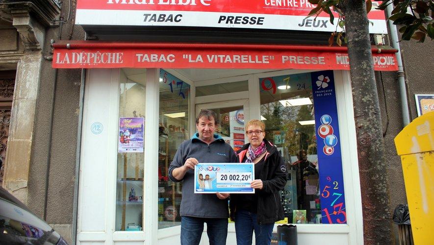 20000€ gagnés au tabac-presse de la Vitarelle