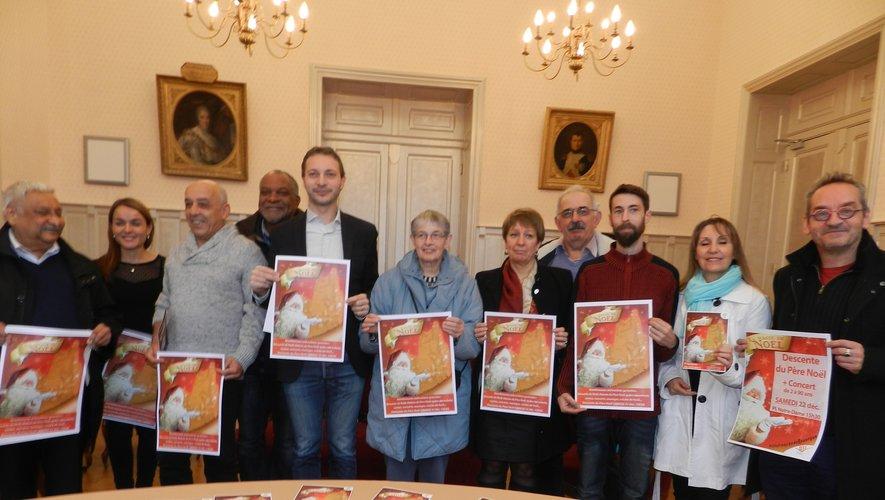 La présentation officielle du programme des animations de Noël s'est faite en mairie.