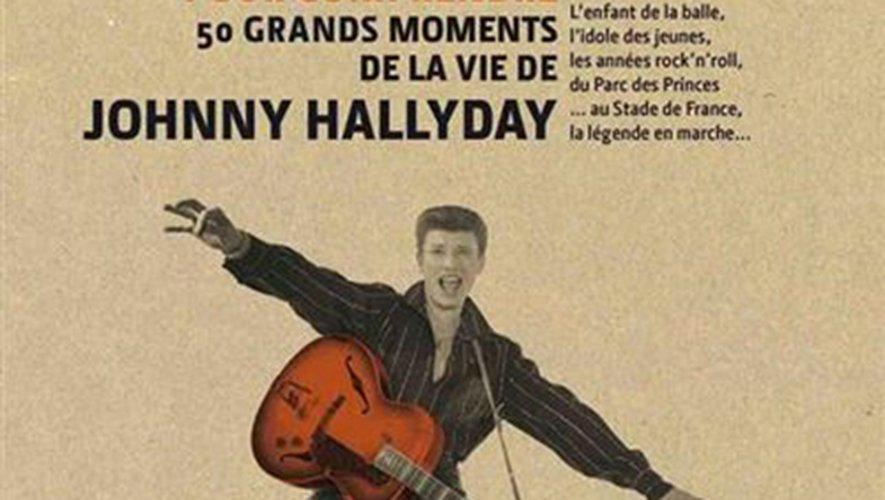 """""""3 minutes pour comprendre les 50 grands moments de Johnny Hallyday"""" de Fabien Lecoeuvre aux éditions Le Courrier du Livre"""
