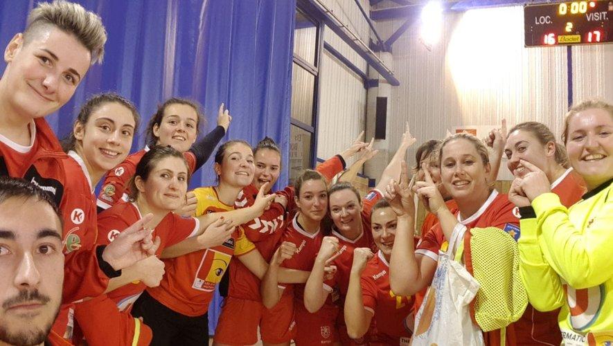 Les séniors filles victorieuses en coupe de France.